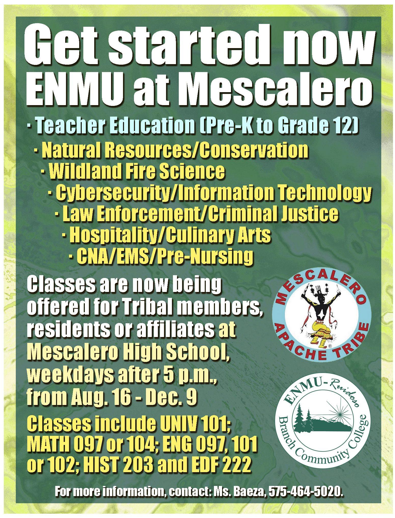 Mescalero_ENMU_flyer